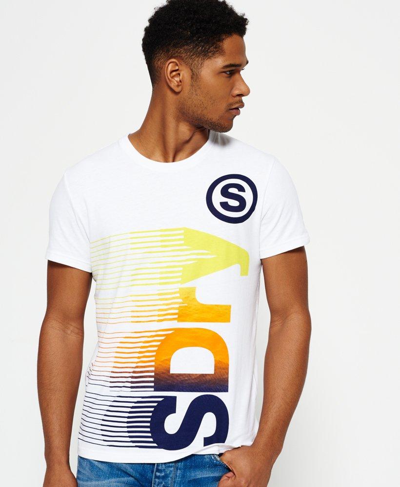 Superdry Vertical T shirt Herrer T shirts