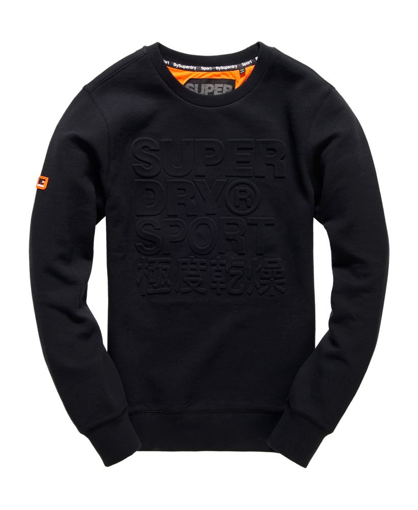 Superdry Gym Tech Embossed Crew Sweatshirt