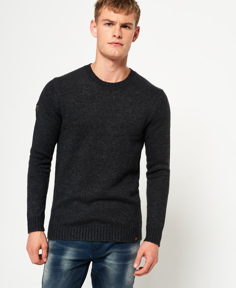 Superdry Arno Crew Neck Jumper