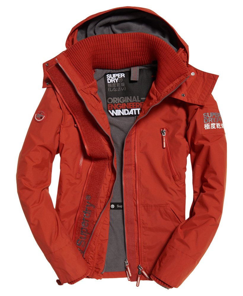 Superdry Polar SD-Windattacker jas met capuchon