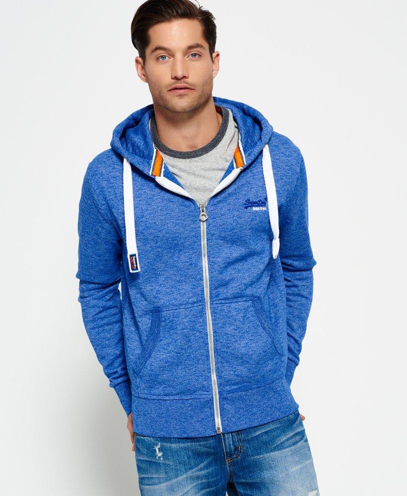 Superdry Orange Label Zip Hoodie Men's Hoodies