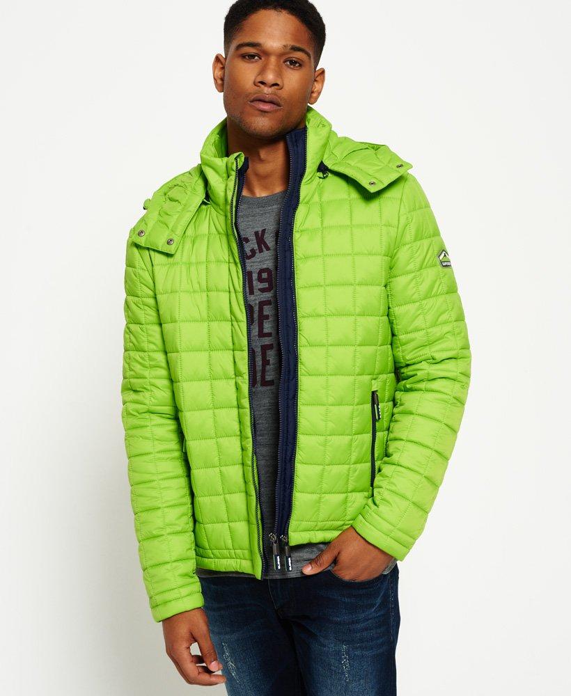 Superdry Box Quilt Fuji jas met capuchon Jacks en jassen