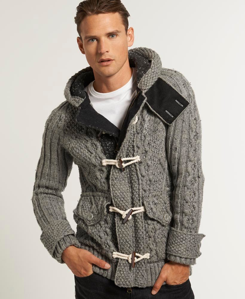 online store dfddf b9071 Superdry Blackhawk Strickjacke - Herren Pullover