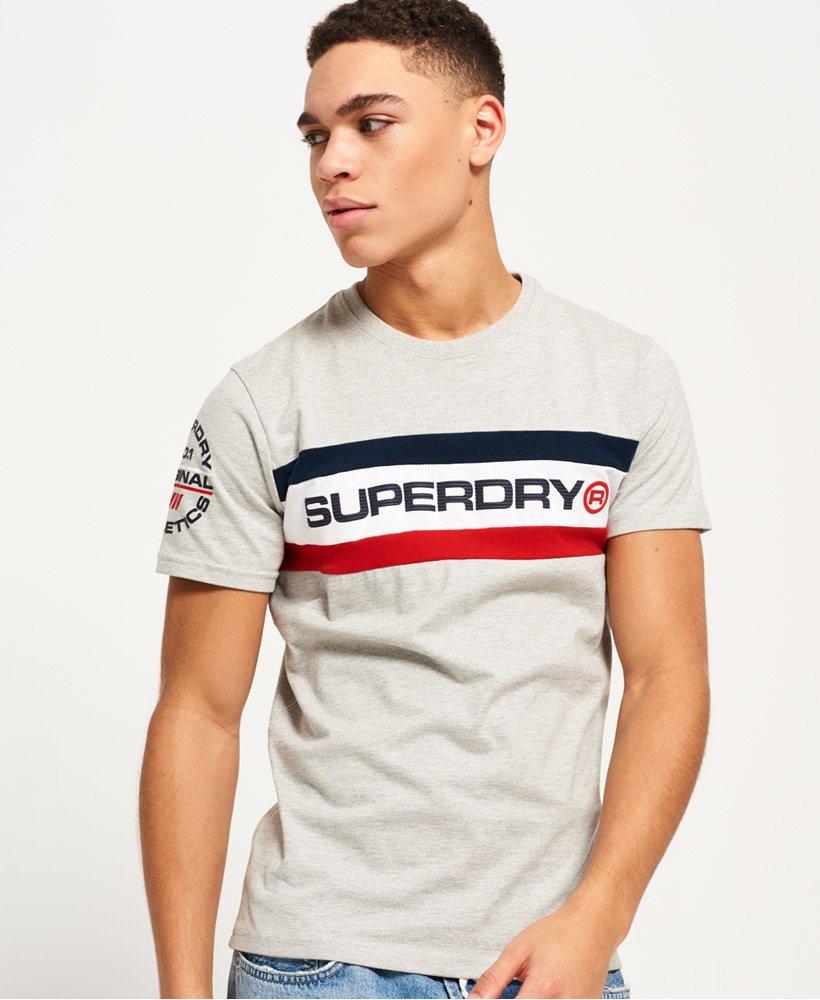 1ed2bf9f Superdry Trophy Chest Band-T-skjorte - Herre T-skjorter