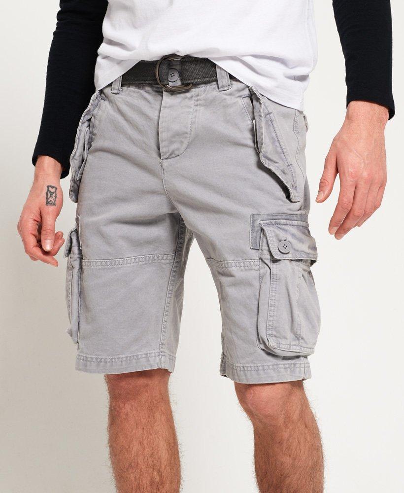 superdry grey shorts