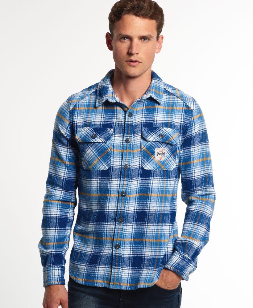 Superdry Milled Flannel overhemd Overhemden voor Heren