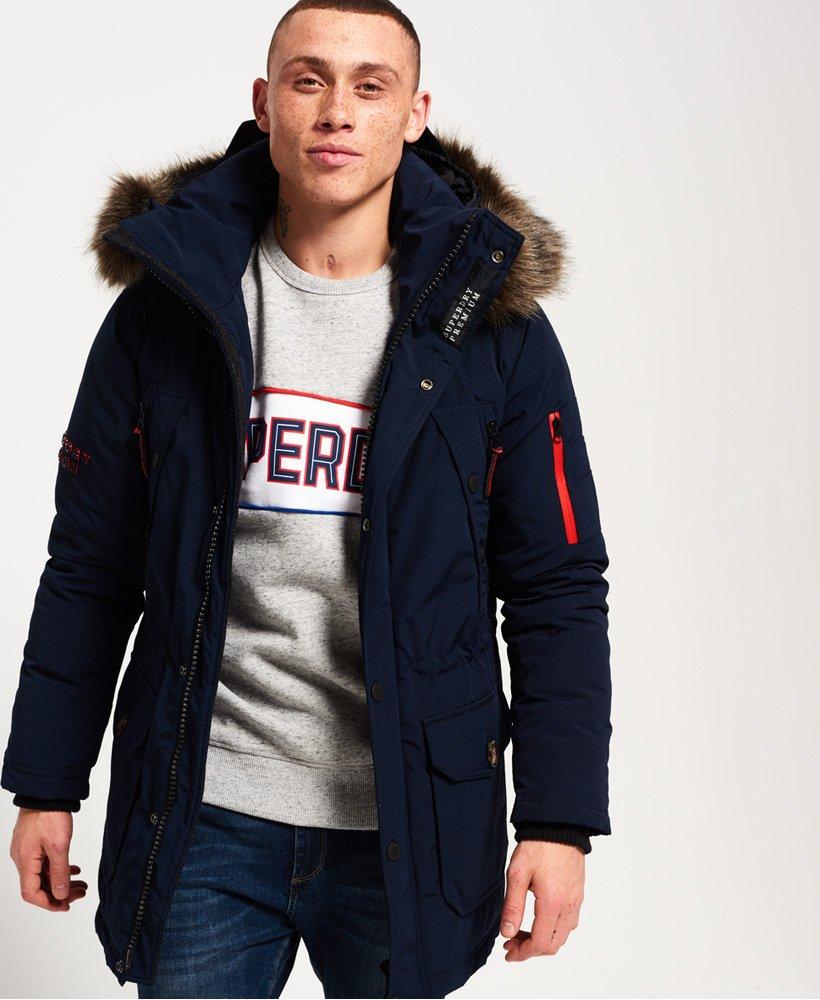 usa cheap sale cheaper shop best sellers Superdry - Parka en duvet de qualité supérieure Trans-Alps ...