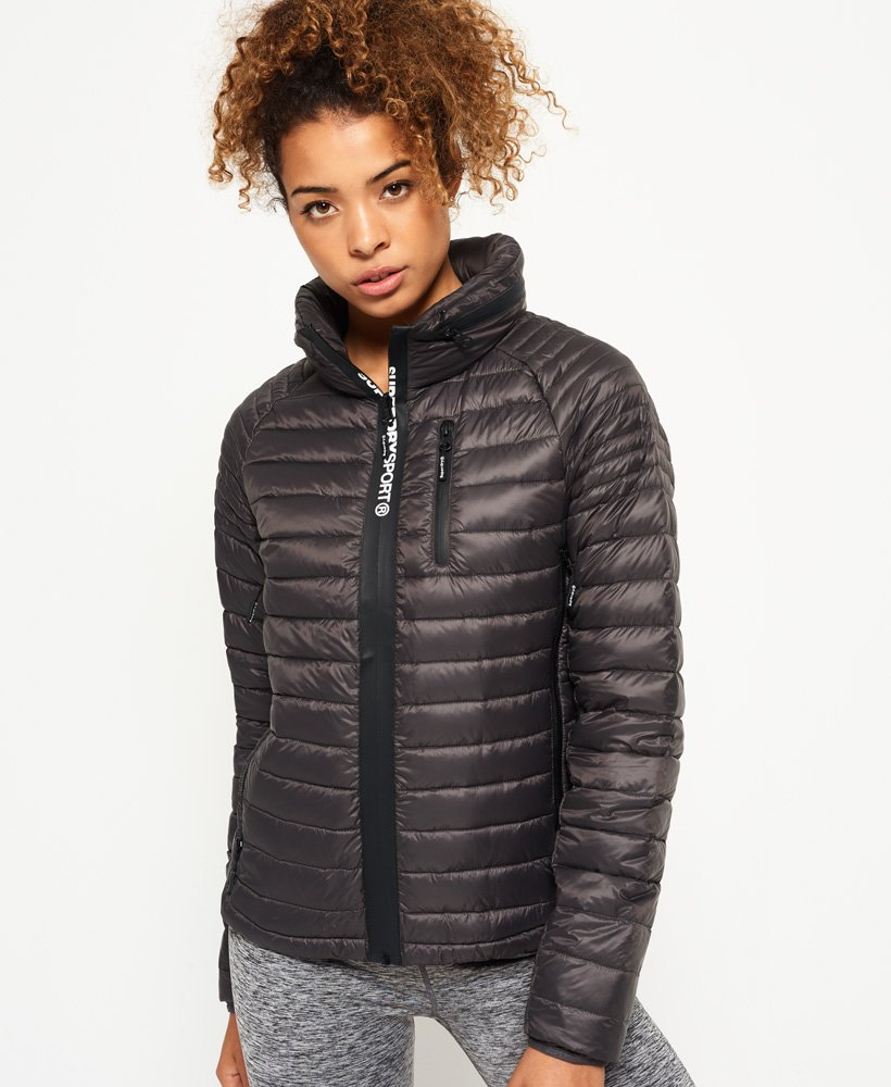 Superdry Sport Power Down Hooded Jacket thumbnail 1