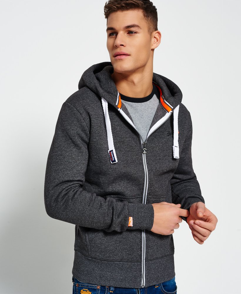 Superdry Veste zippée à capuche Orange Label Sweats à