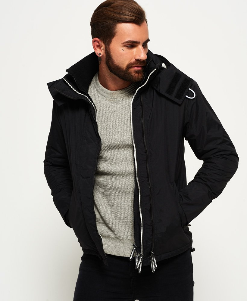 a14212f115d2 Superdry Pop Zip Hooded Arctic SD-Windcheater Jacket for Mens