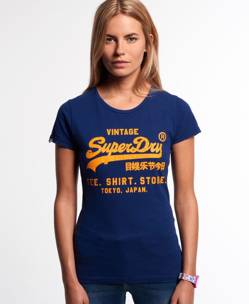 Superdry Shirt Store T skjorte Dame T skjorter