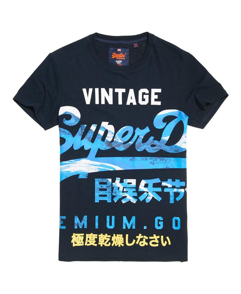Mens Xl Premium Goods T Shirt In Eclipse Navy Superdry