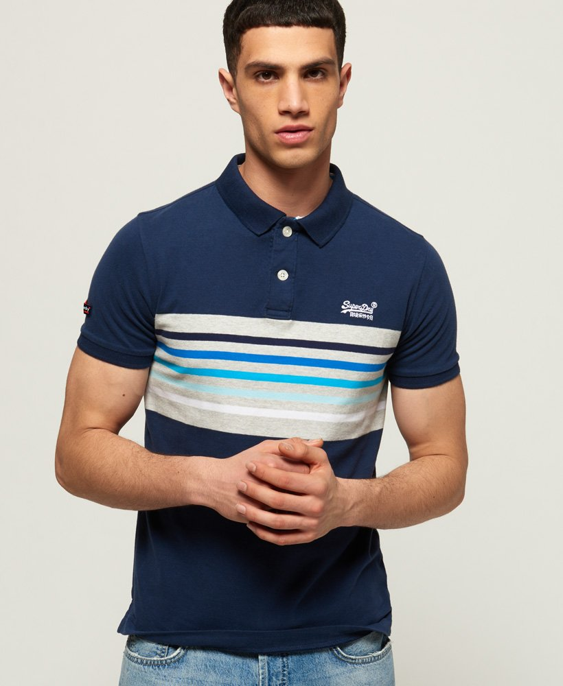 Superdry Classic Cali Banner Polo Shirt thumbnail 1