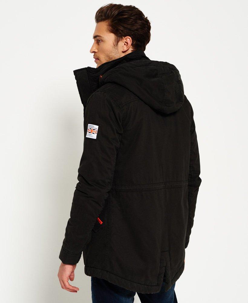 Superdry Rookie Military Parka Jacket Men's Jackets