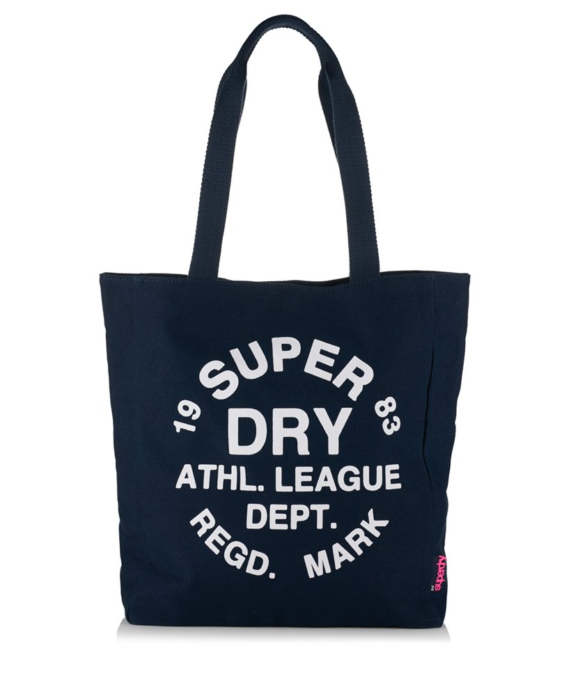 ec71e316ac01 Womens - Athletic League Canvas Tote Bag in Navy