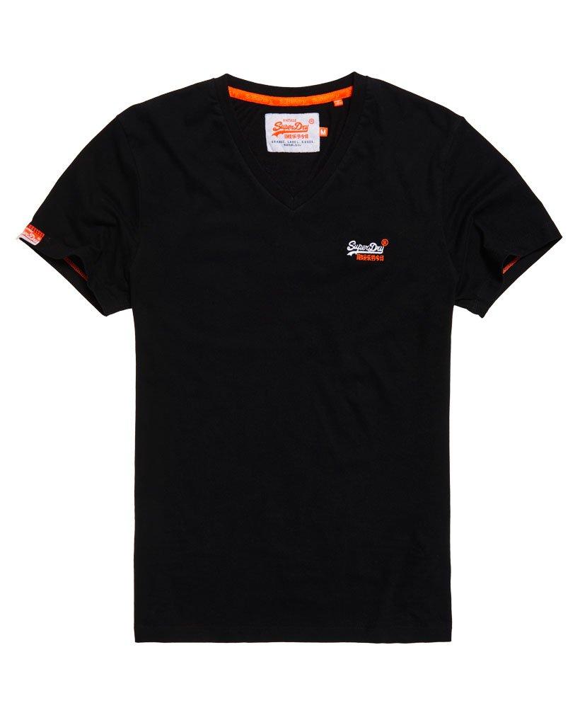 vintage superdry black label tee shirt