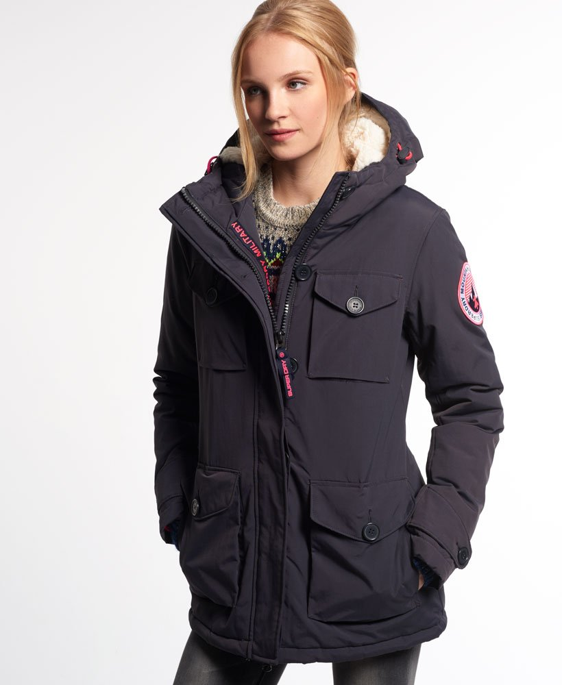 Jackets Coats Women's Coat amp; Superdry Military Everest naq8xR8FI