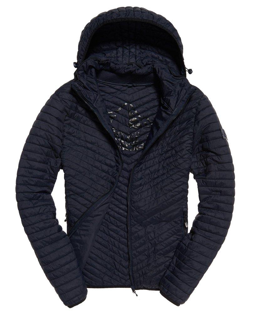 Superdry Damen Cape Vintage Fuji leichte Jacke Steppjacke