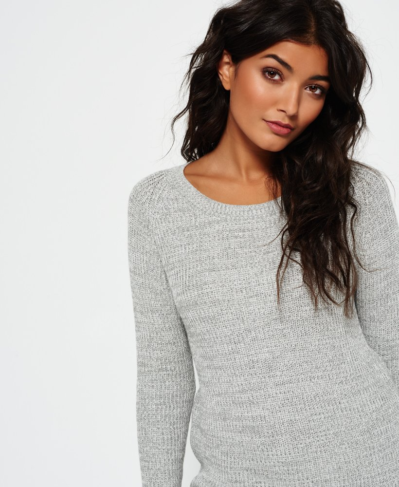 Superdry Austin Cotton Rib Knit Jumper thumbnail 1