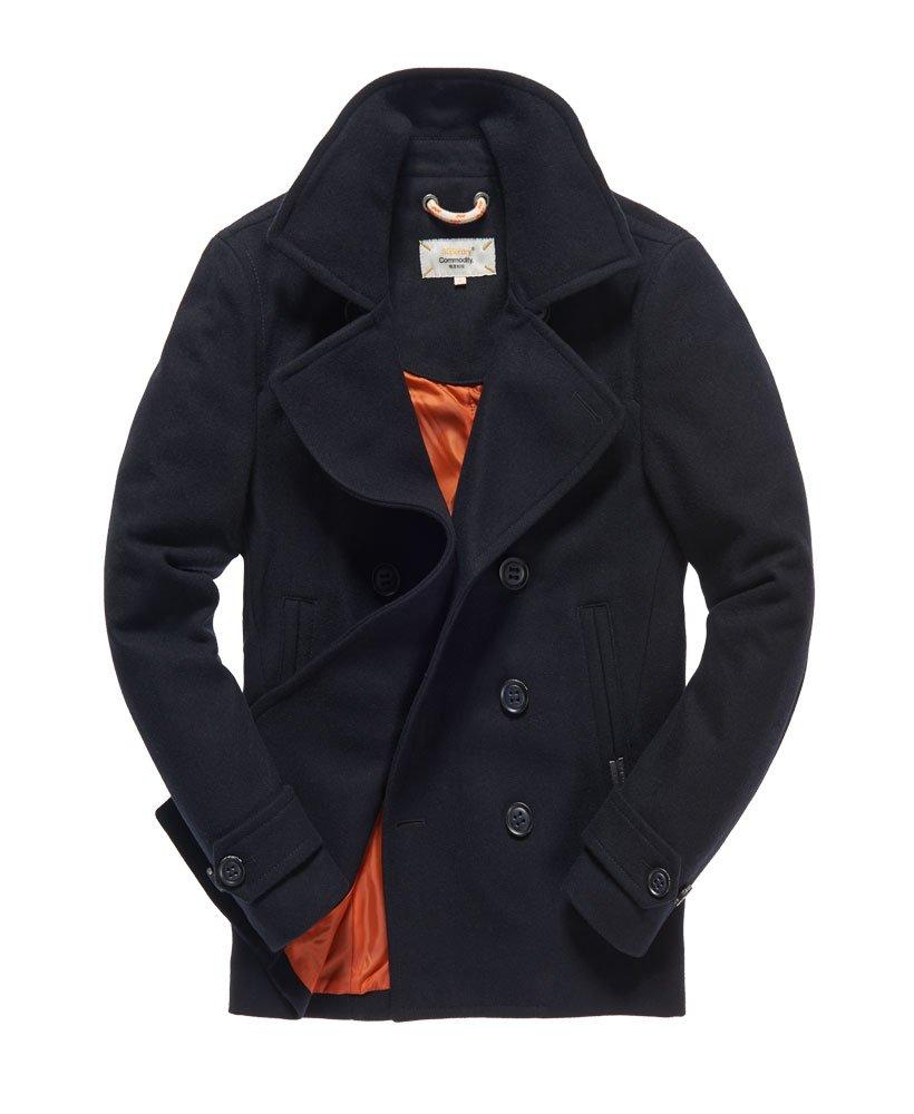 manteau caban superdry homme