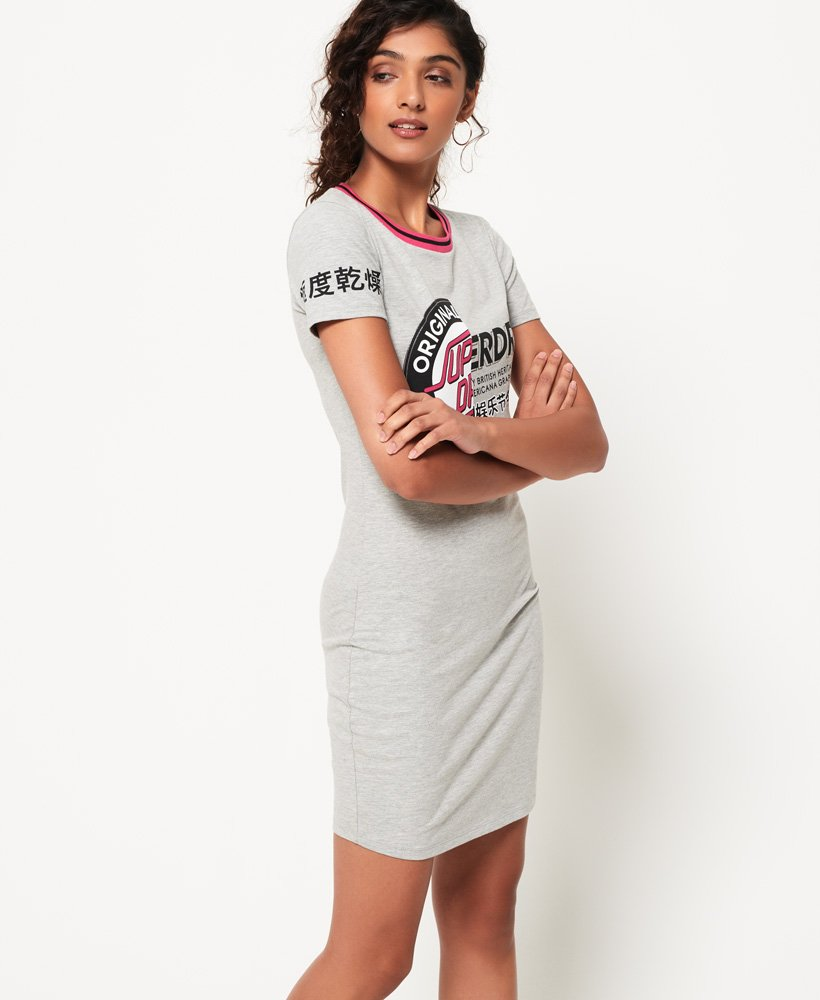 Superdry Cruise Bodycon T-shirtkjole