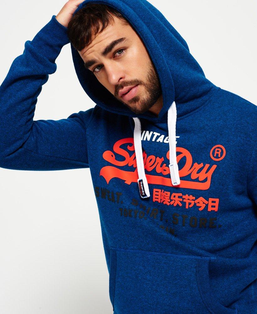 Superdry Dreifarbiges Sweat Shirt Store Hoodie Herren Hoodies