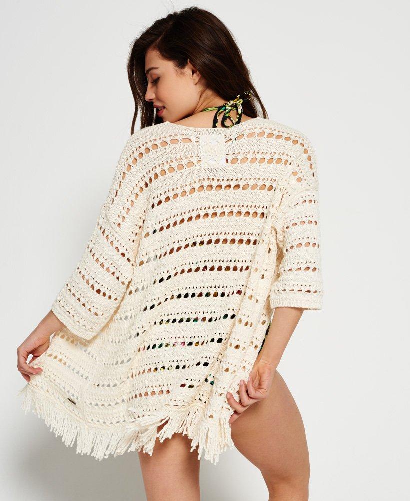 Superdry Womens Island Tassel Kimono