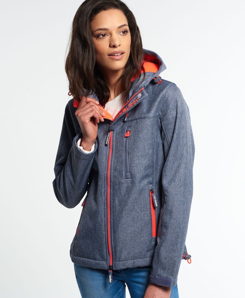 premium selection d146a 7c38f Superdry Hooded Windtrekker-Jacke - Damen Jacken & Mäntel
