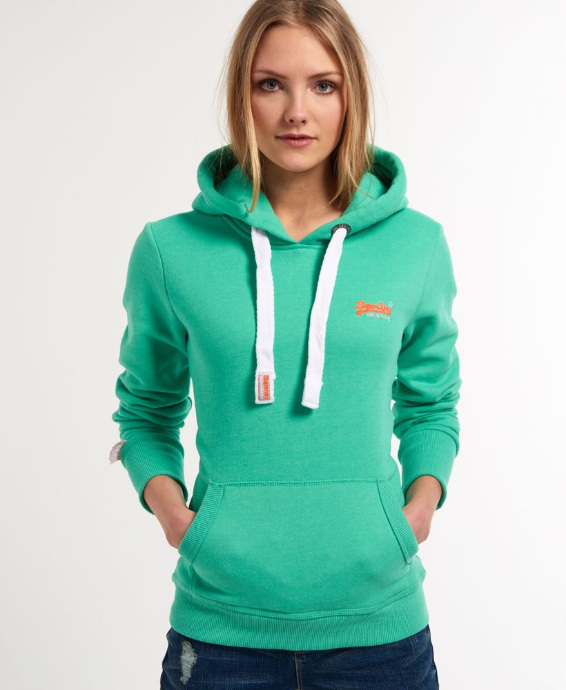 Superdry Orange Label Hoodie Damen Hoodies