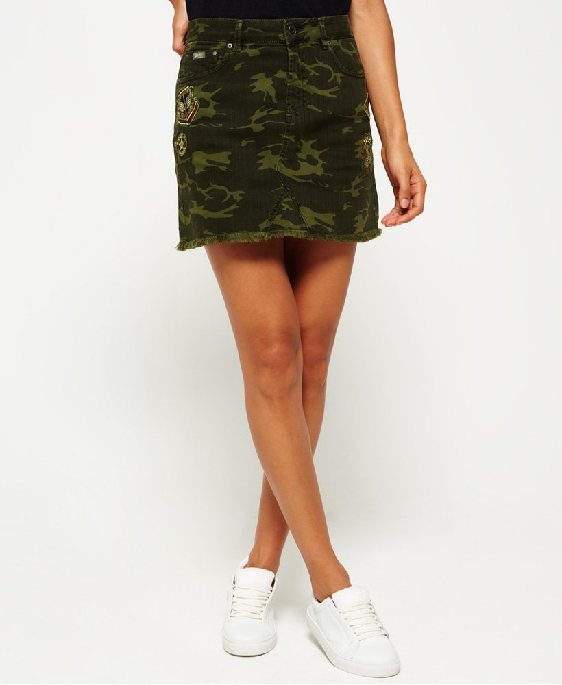 Superdry Freya Mini Skirt thumbnail 1