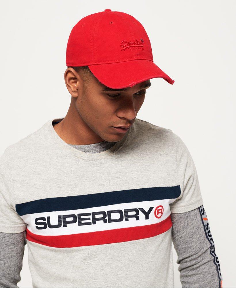 Superdry Vintage Logo Orange Label Wash Cap