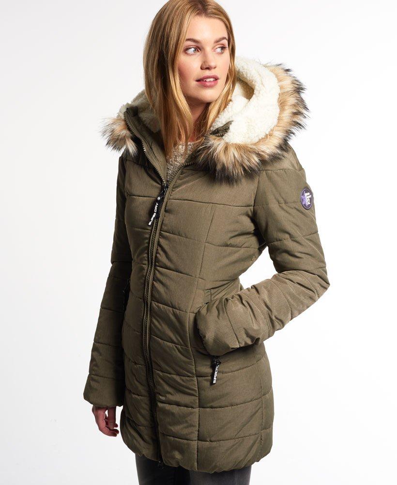 wholesale dealer 95b87 976c9 Superdry Marl Bigfoot Jacke - Damen Jacken & Mäntel
