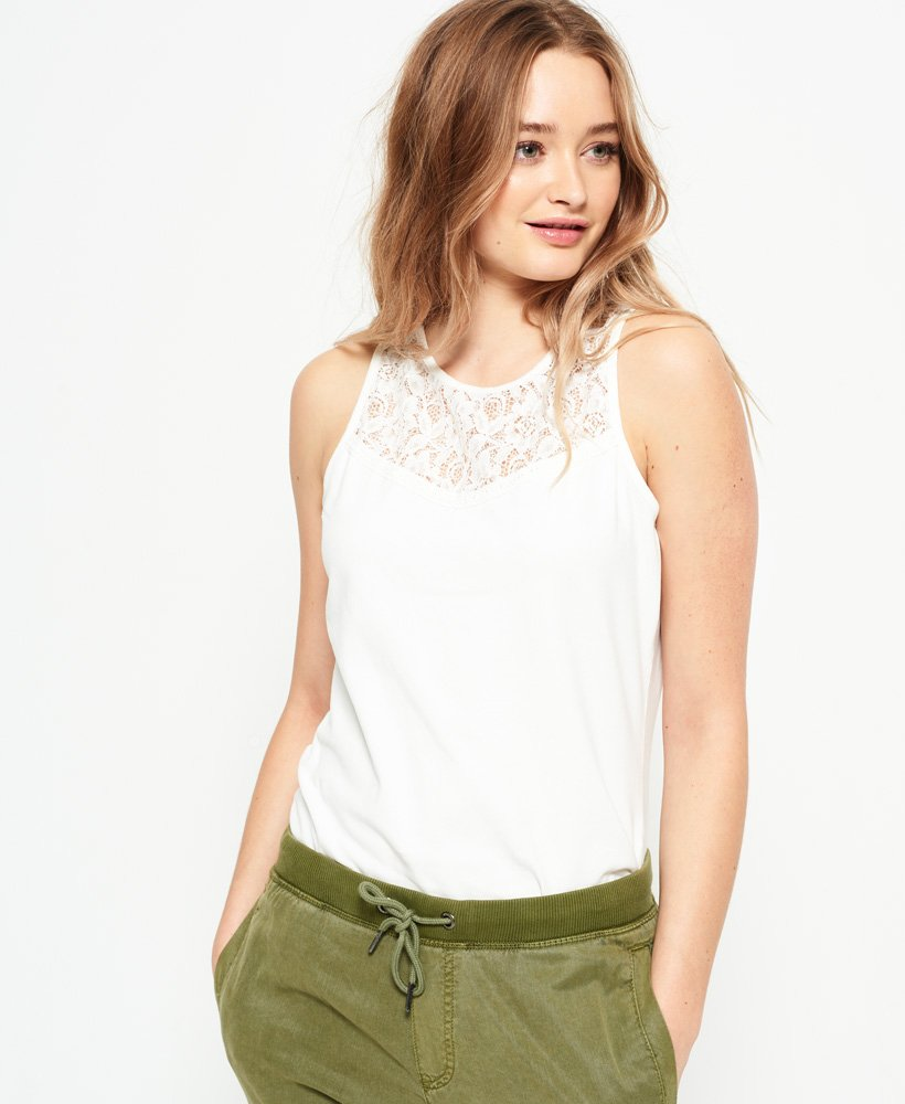Superdry Ivy Lace Vest Top