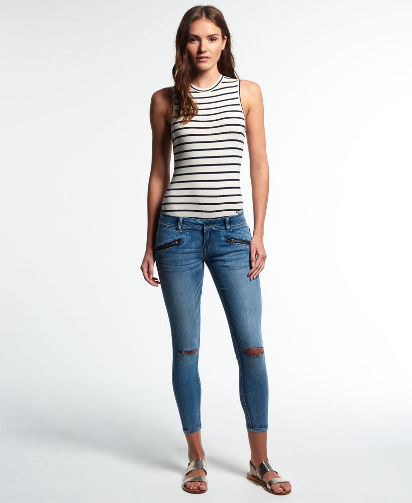 Superdry Leila Skinny Cropped Jeans thumbnail 1