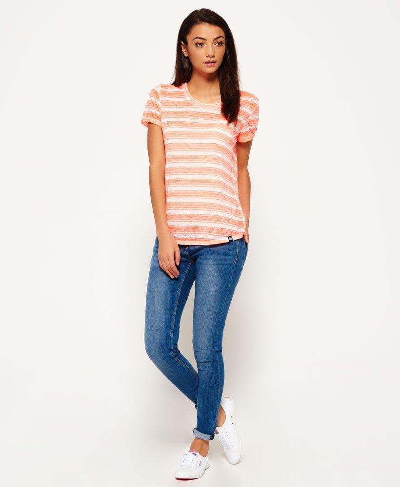 c5939e85 Superdry Essentials Sheer Stripe T-shirt - Women's T Shirts