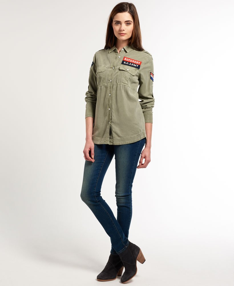 Superdry Delta Military skjorte Dame Skjorter