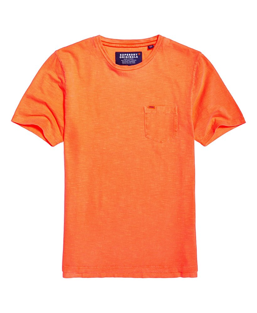 Superdry Dry Originals Pocket T-shirt - Herrer T-shirts 90d7b3ec11