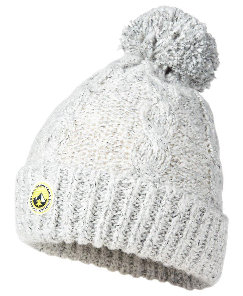 5759e2b8470d7 Superdry Bonnet Clarrie - Femme Accessoires en tricot