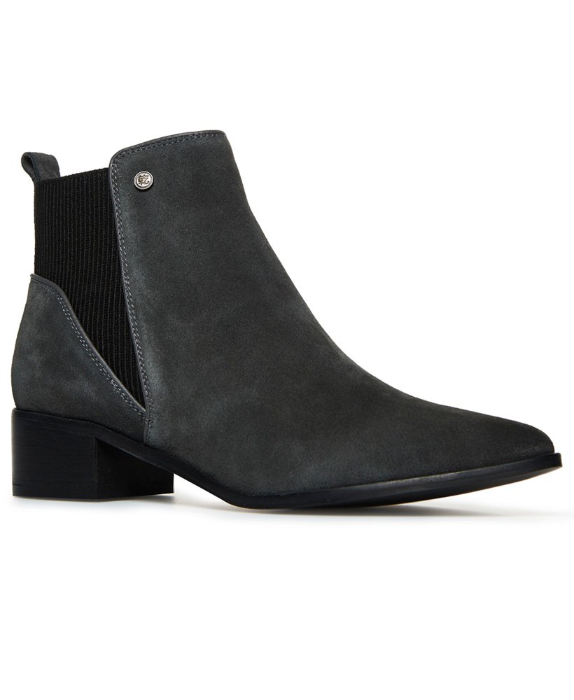 Superdry Quinn Ribbed Chelsea Boots thumbnail 1
