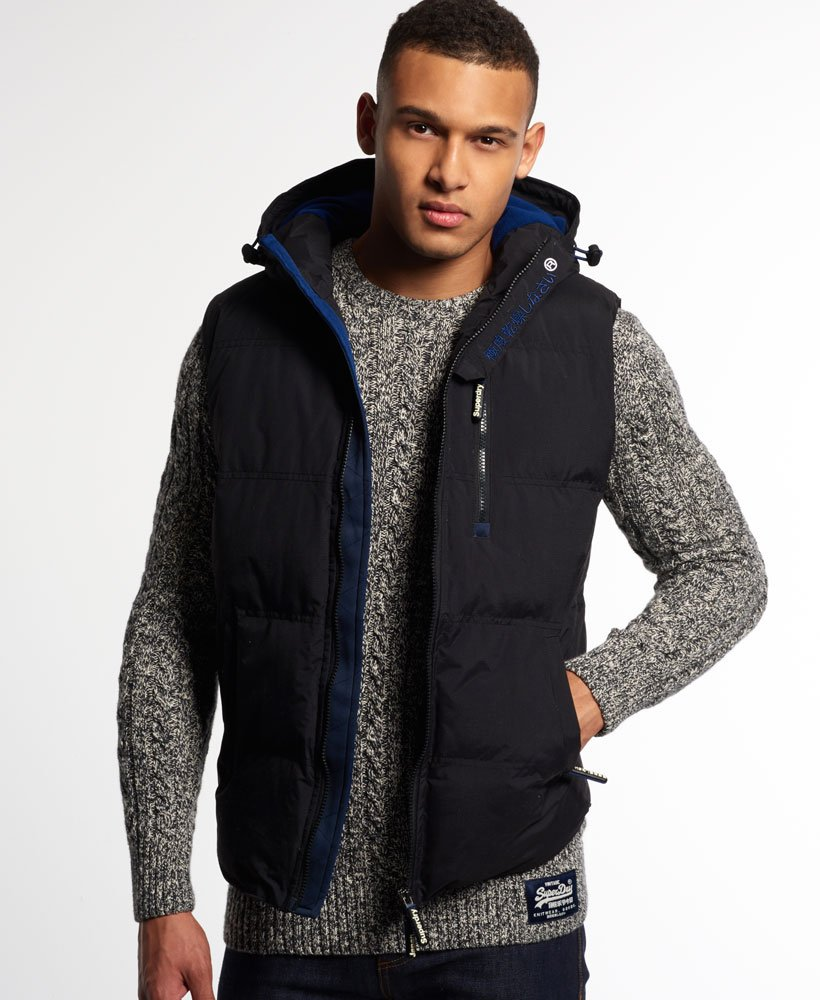 Hooded Windhiker Gilet by Superdry