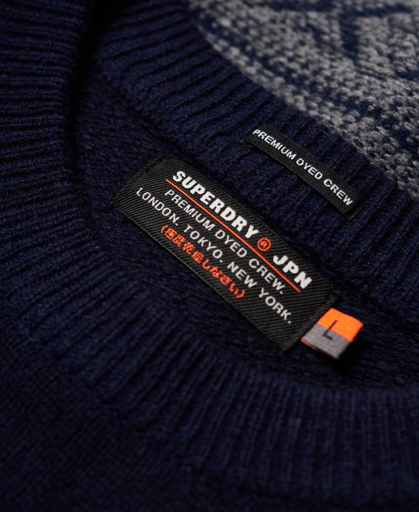 Superdry Pull à col rond Maribo pour Homme