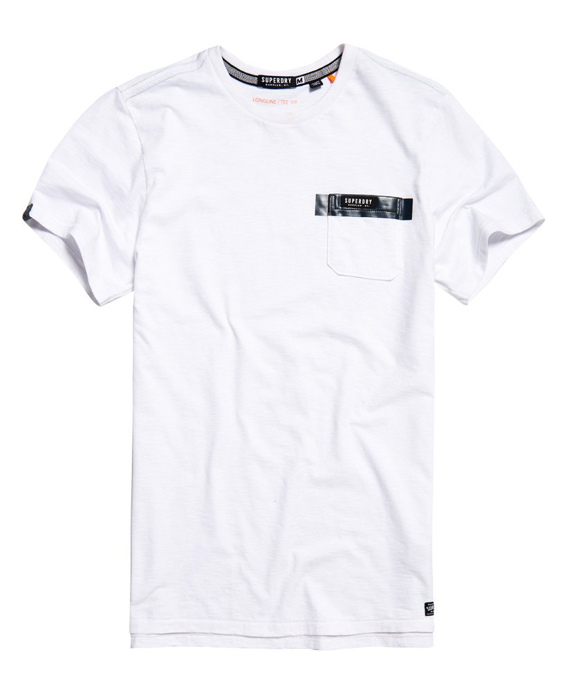 Superdry Surplus Goods Longline Pocket T-shirt