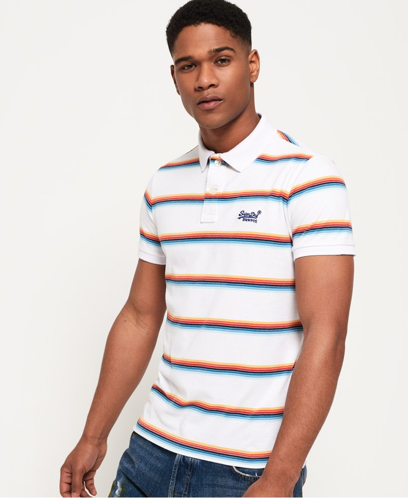 Superdry Classic Cali Surf Polo Shirt thumbnail 1