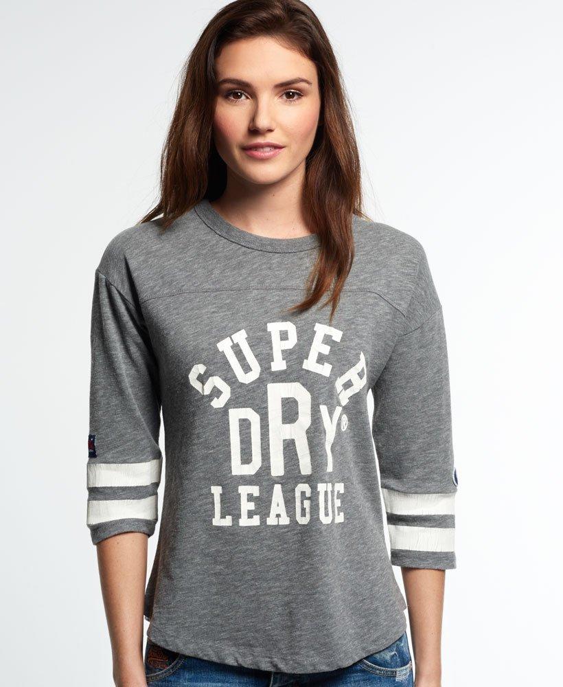 Superdry Tri League Baseball Top