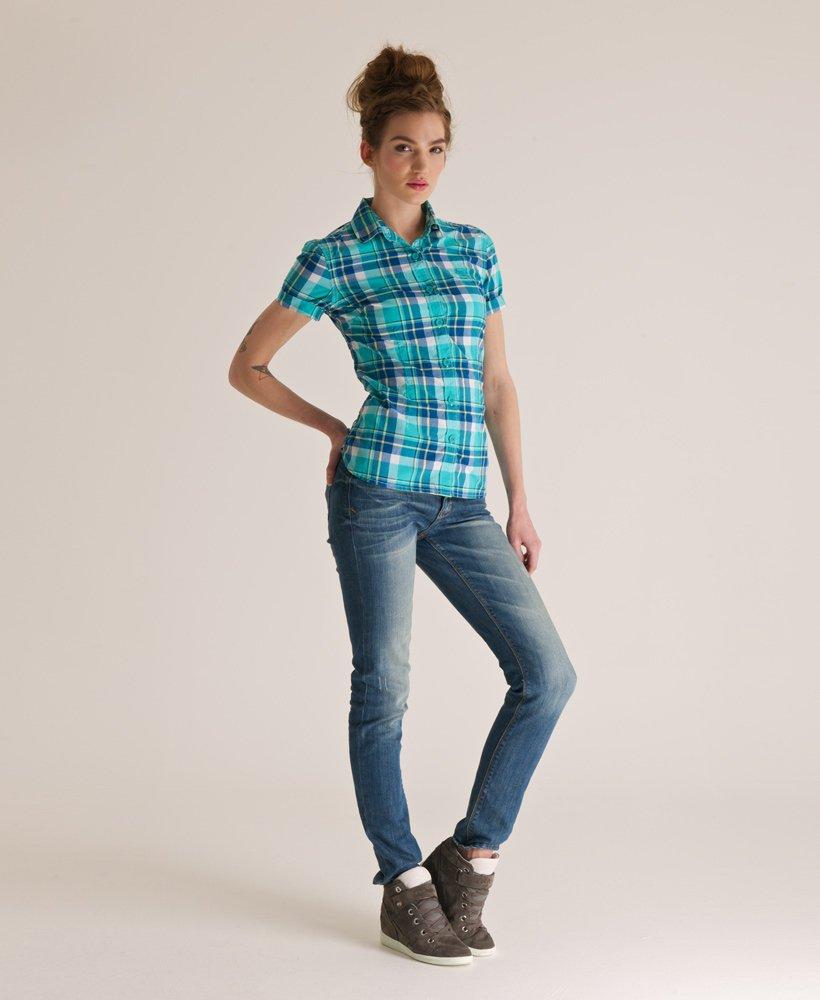 Superdry Camisa a cuadros Penny Camisas para Mujer