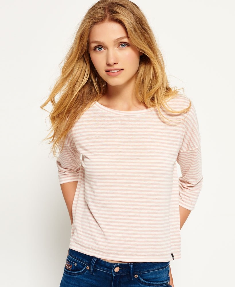 Superdry Burnout Nordic Boxy Top thumbnail 1