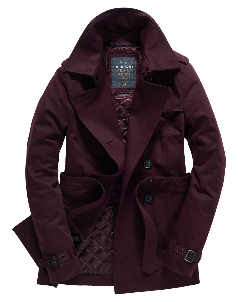 trench coat belle superdry xl