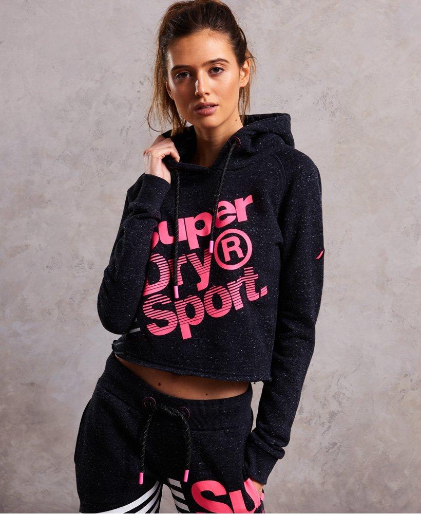 new style 40973 bd0c8 Superdry Sport Label Diagonal Hoodie - Damen Hoodies