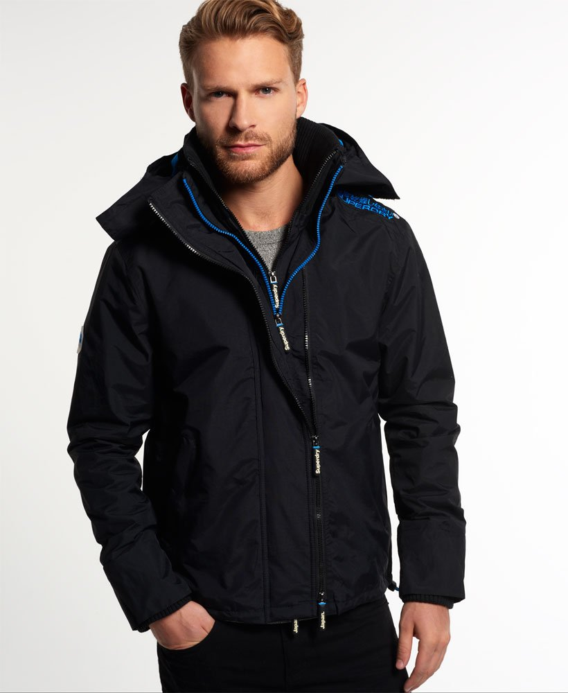 Superdry Pop Zip Hooded Arctic Windcheater Jacket Men S