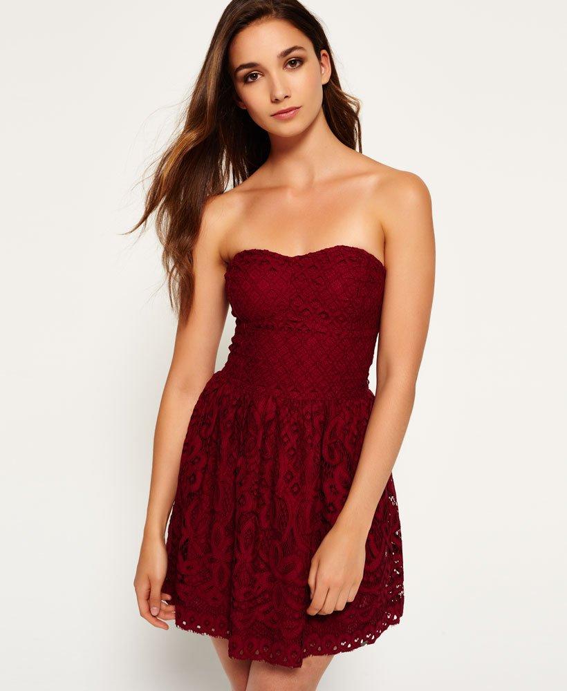 Superdry Rosa kjole i 90'erstil